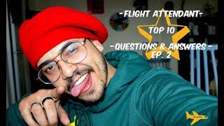 FLIGHT ATTENDANT - Top 10 Flight Attendant Interview