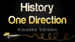 One Direction - History (Karaoke Version)