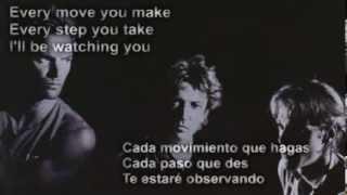 The Police - Every Breath You Take (subtitulada en español)