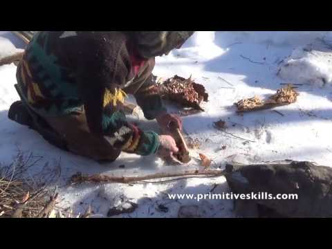 """Winter Skills- Survival to Long Term """"Earth Living"""""""