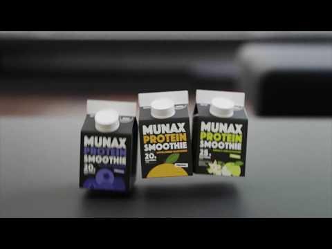 Tehosta älyä, pelaa tehokkaammin – Munax Protein Smoothie