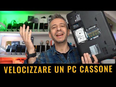 COME VELOCIZZARE UN VECCHIO PC CASSONE c …