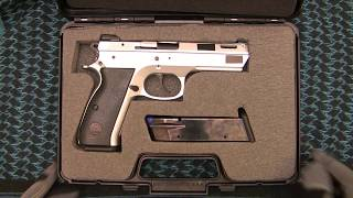 Canik 55 Shark FC Quick Look. Another CZ variant!