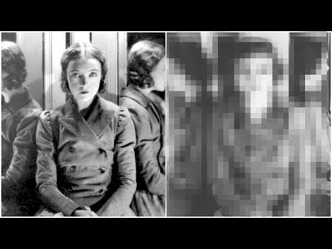 Recreating A 1929 Photo Of Lillian Gish