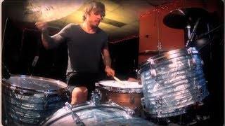 Chris Hornbrook's Queens of the Stone Age drummer video audition - First It Giveth.
