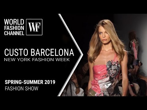 Custo Barcelona spring-summer 2019 New York fashion week