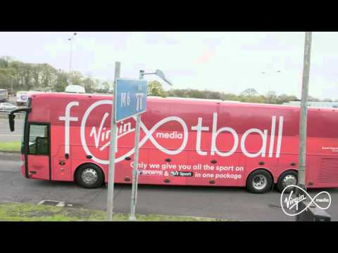 Virgin Media | Virgin Media Fan Bus