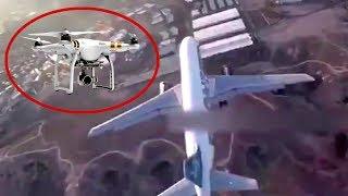 INÉDITO: Drone Invade Aeroporto, Filma Avião de Perto e Quase Causa Acidente! - IMAGENS INCRÍVEIS ✈