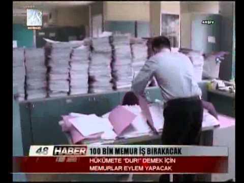 100 BİN MEMUR İŞ BIRAKACAK