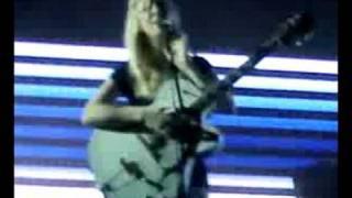 Massive Attack - Teardrop (Live@Rock for People 2008)