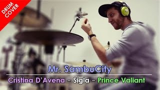 PRINCE VALIANT - sigle cartoni animati - DRUM COVER | MrSambuCity