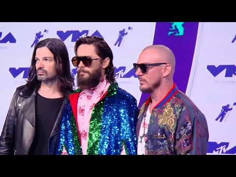 30 Seconds to Mars @ Blue Carpet MTV VMAs 2017