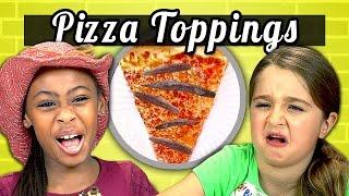 KIDS vs. FOOD #5 - PIZZA TOPPINGS width=