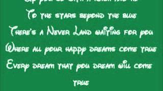 Peter Pan-You Can Fly Lyrics
