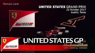 United States Grand Prix Preview – Scuderia Ferrari 2017
