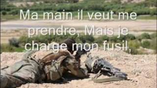 "Chant Militaire - ""J'avais un camarade"" [paroles]"