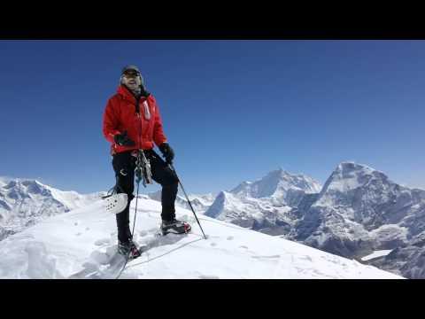 Climb Mera Peak: On the summit of Mera Peak