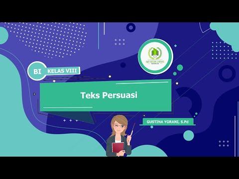 Bahasa Indonesia (BI) - Teks Persuasi - Kelas 8