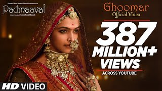 Padmavati : Ghoomar Song | Deepika Padukone | Shahid Kapoor | Ranveer Singh |Shreya Ghoshal|Swaroop