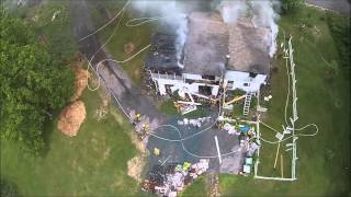 Firefighters Shoot Douchebag's Interfering Drone Out Of The Air