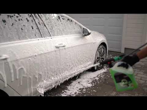 Så tilfredstillende kan det være å vaske bilen!