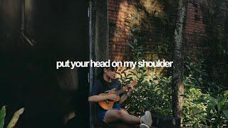 Put Your Head On My Shoulder - Paul Anka (ukulele cover) | Reneé Dominique