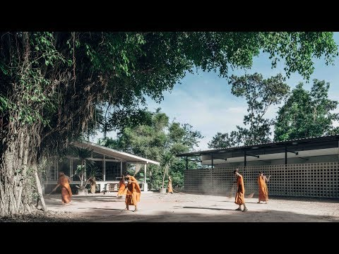 Buddhanimit Temple extension improves facilities for novice monks