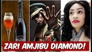 KIMENUKA: Zari The Boss Lady Amjibu DIamond Platnumz! Ni baada ya Kijembe cha Luluz Hair