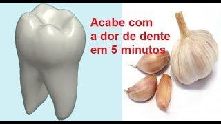 Como curar dor de dente em cinco minutos