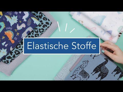 Welche Stoffe gibt es? 10 elastische Stoffarten | Nastjas Nähtipps