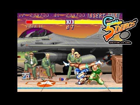 """STREET FIGHTER 2' DOUBLE KO TURBO II - """"CON 5 DUROS"""" Episodio 605 (1cc) (CTR)"""