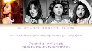 Miss A - Only You (Color Coded Han|Rom|Eng Lyrics)