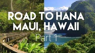 (GOT STUCK IN LAVA!!) TOURING HAWAII // MAUI ROAD TO HANA