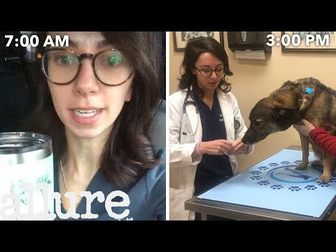 A Veterinarian's Entire Routine, from Waking Up to Treating Pets   Allure