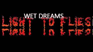 wet dreams by light to flies official video