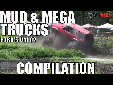 FORD MUD AND MEGA TRUCK MUD COMPILATION 2018 VOL 02