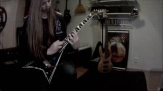 Hannes Grossmann - Oceanborn Guitar Solo Cover