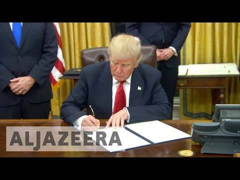 Trump relishes his first moments as US president