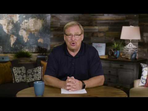 Join Rick Warren for Saddleback Church's new series, Unshakable