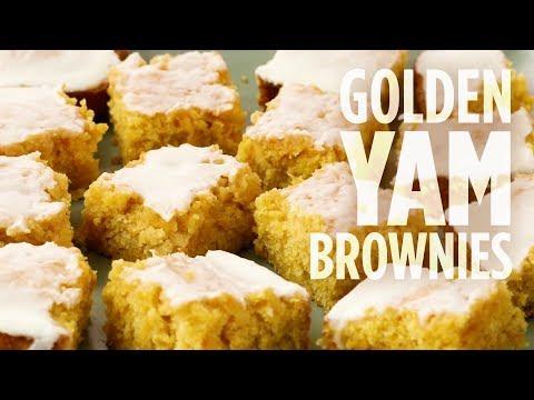 How to Make Golden Yam Brownies | Dessert Recipes | Allrecipes.com