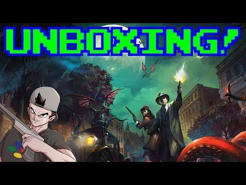 SURVIVAL HORROR EN CARTAS?! || Arkham Horror Unboxing