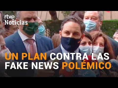 Reacciones EN CONTRA del plan contra la DESINFORMACIÓN y las FAKES NEWS del Gobierno | RTVE