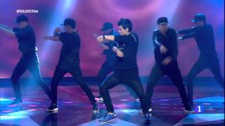 Abraham Mateo - All The Girls (La La La) - Feliz 2015 (31 - 12 - 2014) La 1 HD