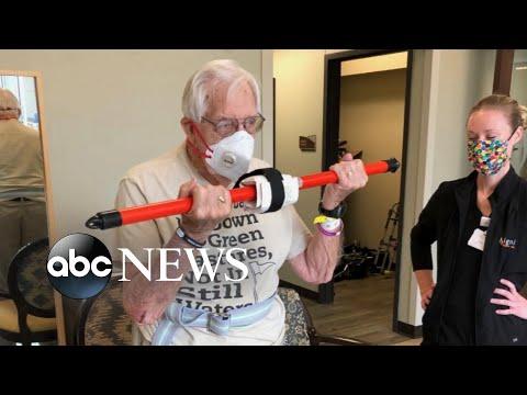 Inspiring stories of World War 2 veterans dealing with the coronavirus
