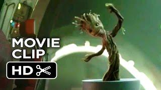 Guardians of the Galaxy Movie CLIP - Dancing Baby Groot (2014) - Vin Diesel Marvel Movie HD width=