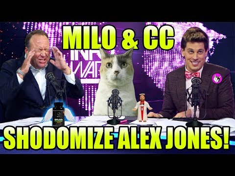 MILO & CC Shodomize Alex Jones & InfoWars!