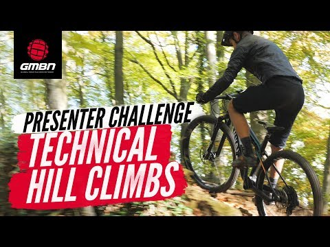 Technical Mountain Bike Hill Climbing | Presenter Challenge