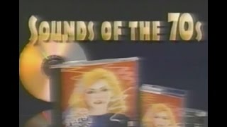 """SOUNDS of the 70s"" - 1997 TV commercial for compilation of hits"