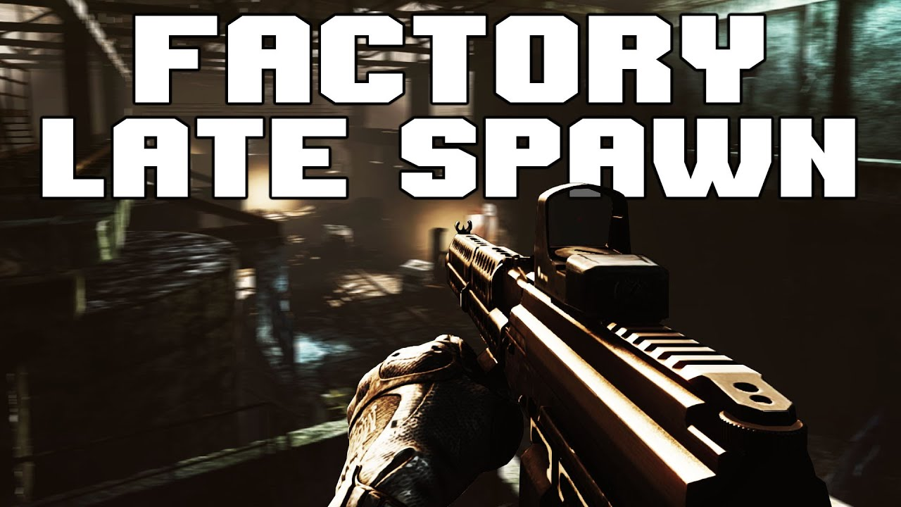 Eroktic - Late Spawn in Factory as PMC?????? Escape from Tarkov 12.8