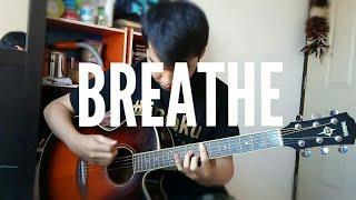 Lee Hi - BREATHE (Fingerstyle Guitar Cover by Ludwig Nathanael, Arrangement by Sungha Jung)
